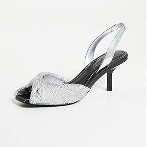 Sigerson Morrison silver sandals